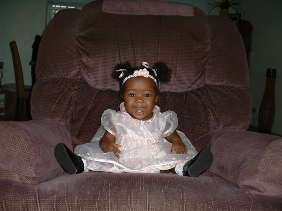 Mikayla at Church