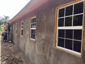 plastering outside of my home