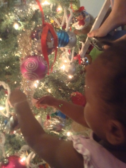 Isebelle's First Time Decorating