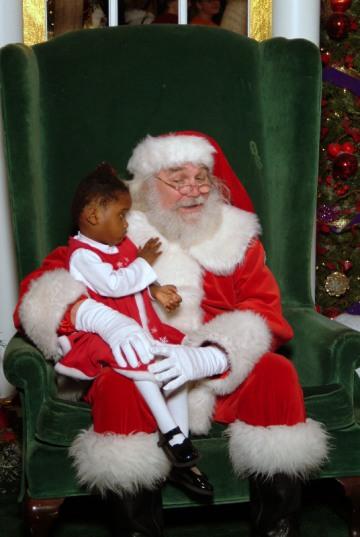 gigi and santa