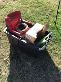 Levi's garbage truck