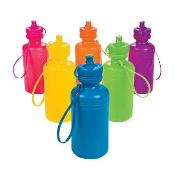 waterbottles for orphans